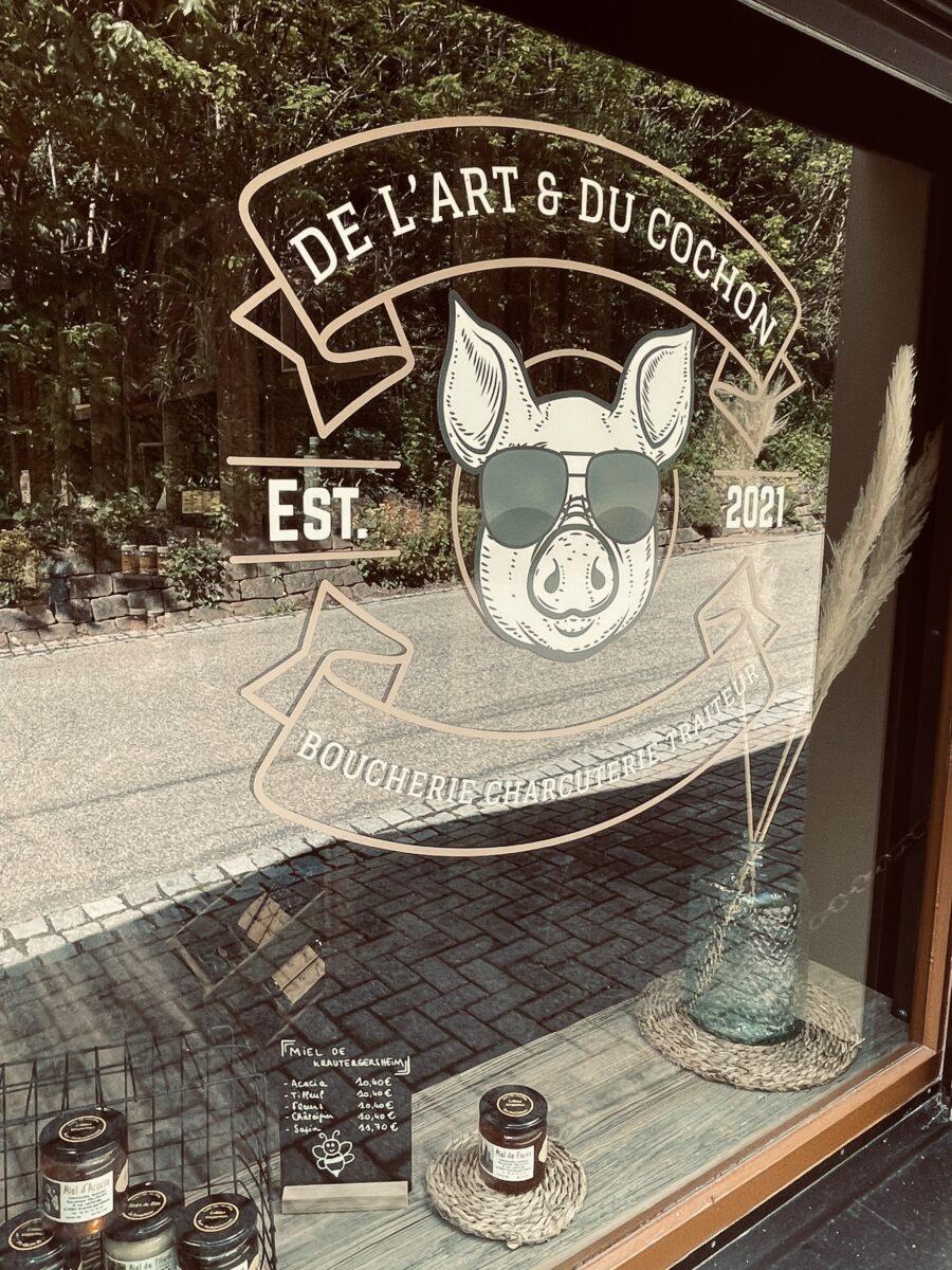 De l'art et du cochon Ottrott Obernai